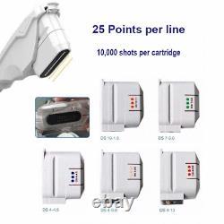 Professional 2 in 1 Hifu Focuced Ultrasound Body Slimming Machine 5 Cartridges