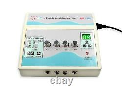 Professional 4 Channel Electrotherapy Machine Ultrasound Multi Pain Relief Unit