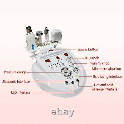 Professional 5 in 1 Diamond Microdermabrasion Ultrasound Beauty Machine