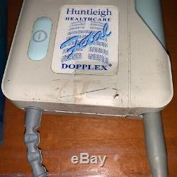 Professional Grade Huntleigh Fetal Doppler FD1 Dopplex & Medline Ultrasound Gel