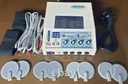 Professional Home Delta 03 Electrotherapy 4 Channel Physical therapy Machine F%s