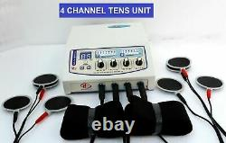 Professional Home use Electrotherapy 4 Channel Physical Stress Relief Therapy fg