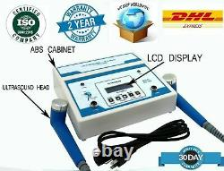 Professional Ultrasound 1MHz & 3MHz Therapy Ultrasonic Pain Relief Pulse LCD -US