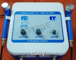 Professional Ultrasound Physical Therapy Machine 1 & 3 Mhz Pain Relief Home Use