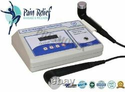 Professional Ultrasound Therapy 1MHz And 3MHz Machine for Multi Pain relief Unit
