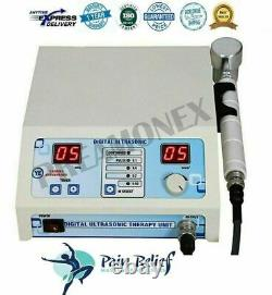 Professional Ultrasound Therapy Machine for Pain relief 1Mhz with Deep Heat Unit