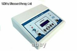 Professional Ultrasound therapy 1 MHz Frequency and 3 MHz Frequency Machine A