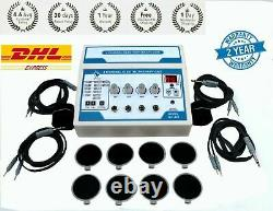 Professional Use Portable 1MHz Ultrasound Therapy 4 Channel Electrotherapy JJT