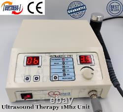 Professional Use Ultrasound Therapy Machine New Ultrasonic 1MHz Pain Relief Unit
