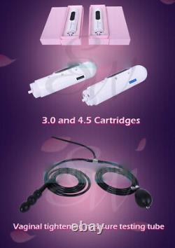 Professional Vaginal Tightening HIFU Ultrasound 3.0 4.5 Cartridges Treatment