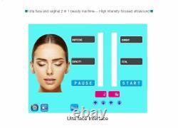 Professional Vaginal VMAX Tightening HIFU Machine Ultrasound Rejuvenation Tool