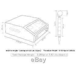 Professional chiropractic physiotherapy ultrasound ultrasonic therapy machine