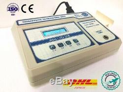 Professional chiropractic ultrasound therapy machine 1&3Mhz with lcd display