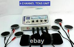 Professional/home use Electrotherapy 04 Channel Multi Therapy Machine CE Certify