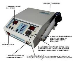 Professional mini Ultrasound Therapy Unit 1MHz joint Pain Relief Heat Treatment