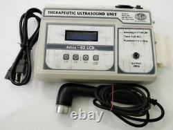 Professional use 3 MHz Ultrasound Therapy deLta 03 LCD Pain Relief unit