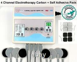 Professional use 4 Channel Electrotherapy Physical Pain Relief Ultrasound Unit $