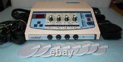 Professional use DynoPlus Electrotherapy CE Digital Machine Multi Therapy 4 Ch