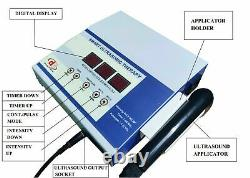 Professional use Ultrasound Therapy 1 mhz Unit Physical Therapy Stress Relief k