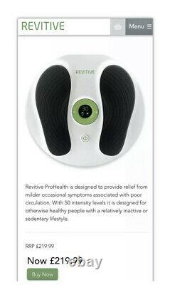 REVITIVE Essential Pro Health Circulation Booster Excellent Condition RRP £220