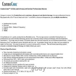 Roscoe Medical ComboCare E-Stim & Ultrasound Combo Professional Device DQ7844