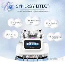 S-SHAPE Ultrasound Cavitation+RF Radio Frequency Pro Vacuum Suction Slim Machine