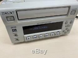 Sony DVO-1000MD Professional DVD Recorder Medical Ultrasound Tested Working