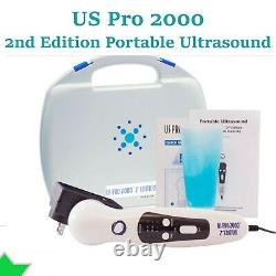 US Pro 2000 2nd Edition Portable Ultrasound Contin Pulse & Pre-Warming Soundhead