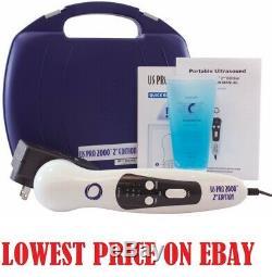 US Pro 2000 2nd Ultrasound Ultrasonic Unit Portable Pain Therapy DU3035