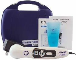 US Pro 2000 Professional Ultrasound Portable Therapy Unit Ultrasound Gel, AC/DC