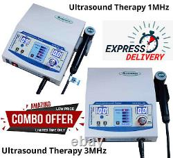 US Pro Ultrasound Therapy Machine Pain Relief Ultrasonic 1MHz- 3MHz Therapy Unit