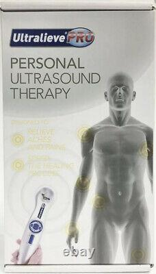 Ultralieve Pro Personal Ultrasound Therapy Pain Relief Aids Aches Pains Strains