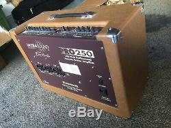 Ultrasound Pro 250 Guitar Amplifier with PA channel