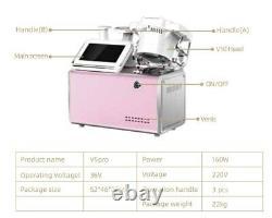 V5 Pro body shaping Ultrasound RF+Vacuum Roller+Cavitation RF WeightLoss Machine